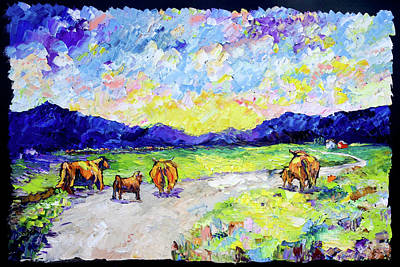 Painting - Heading Home by Carrie Jacobson