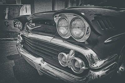 Photograph - Headlights by Marvin Borst