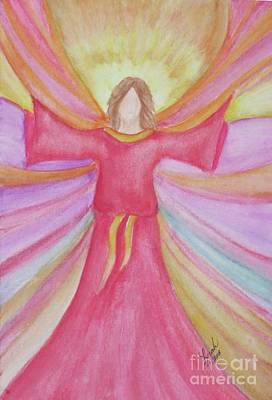 Painting - Healing Angel 2 by Lorah Tout
