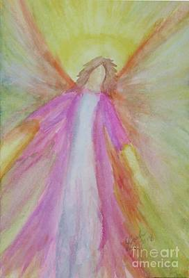 Painting - Healing Angel 3 by Lorah Tout