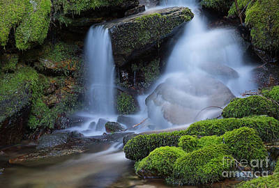 Photograph - Healing Waters by Idaho Scenic Images Linda Lantzy