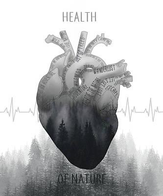 Digital Art - Health Of Nature by Bekim Art