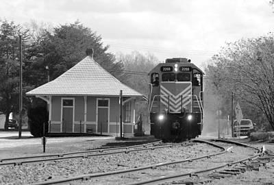 Photograph - Heath Springs Depot 2.24.2016 by Joseph C Hinson Photography