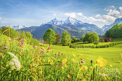Photograph - Blooming Bavaria by JR Photography