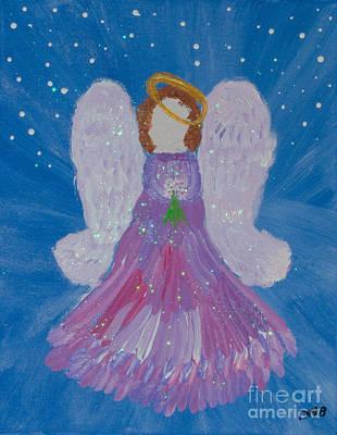 Priska Wettstein Land Shapes Series - Heavenly Angel by Donna Brown