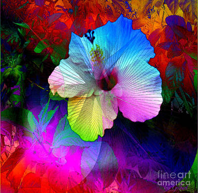 Digital Art - Heavenly Blooms by Iris Gelbart