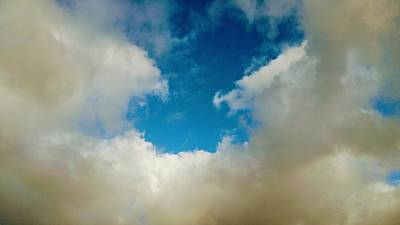 Photograph - Heavenly Clouds by Richard Yates