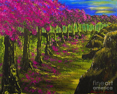 Painting - Heavenly Path by Jacqueline Martin