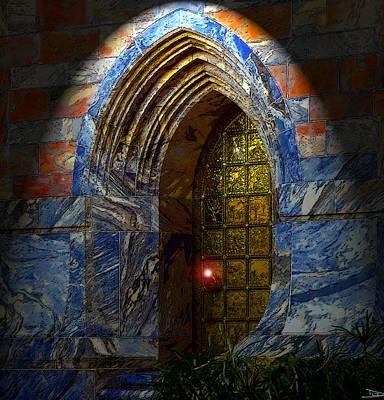 Gateway Digital Art - Heavens Gate by David Lee Thompson