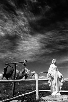 Healing Hands Photograph - Heavens Light by Jimmy Bruch