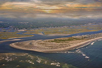 East Coast Photograph - Heaven's View Topsail Island by Betsy Knapp