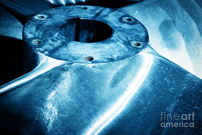 Produce Photograph - Heavy Industrial Shipbuilding Element Close-up by Michal Bednarek