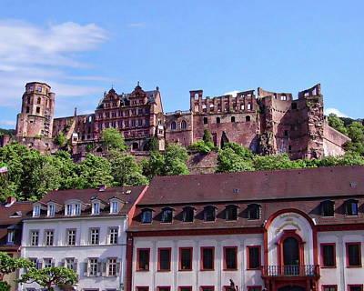 Photograph - Heidelberg Castle by Anthony Dezenzio