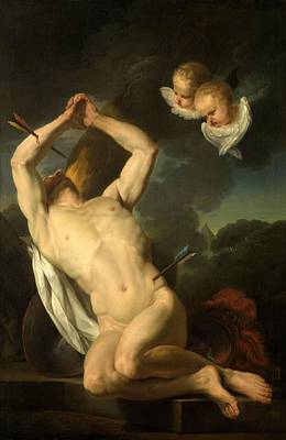 Painting - Heilige Sebastiaan  by Augustin van den Berghe