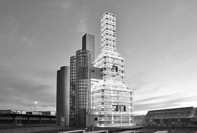 Photograph - Hejduk Memorial Towers by Marek Stepan