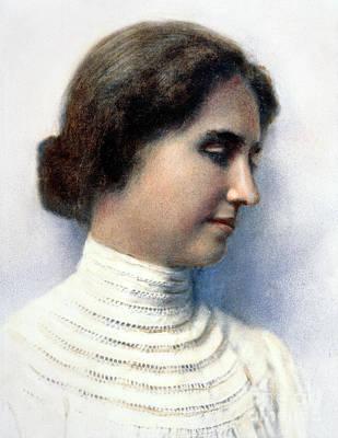 Helen Keller (1880-1968) Art Print by Granger