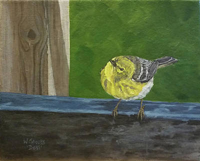 Painting - Hello by Wendy Shoults