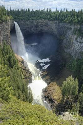 Photograph - Helmcken Falls 3 by David Birchall
