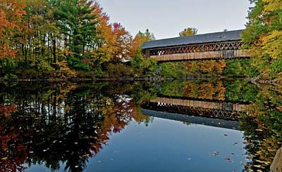 Photograph - Henniker Bridge by Paul Mangold