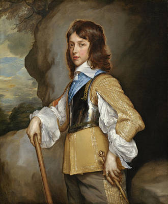 Painting - Henry Duke Of Gloucester by Adriaen Hanneman