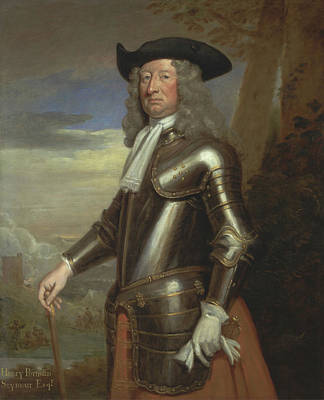 Kneller Painting - Henry Portman Seymour by Godfrey Kneller