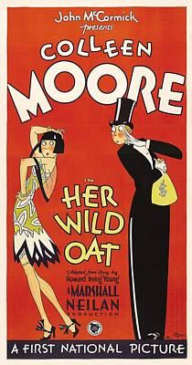 Her Wild Oat 1927 Art Print