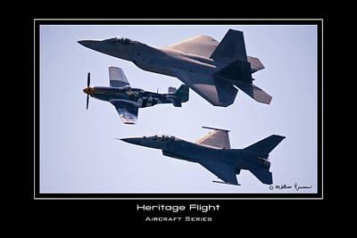 Heritage Flight Art Print by Mathias Rousseau