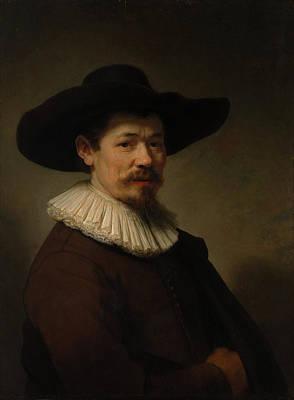 Man Painting - Herman Doomer by Rembrandt van Rijn