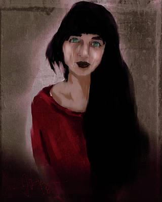Digital Art - Hettie by Jim Vance