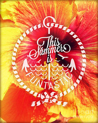 Hibiscus Art Print by Chris Andruskiewicz