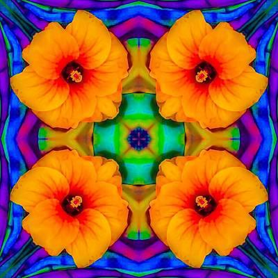 Digital Art - Hibiscus by William Braddock