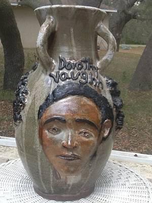 David Mack Ceramic Art - Hidden Figures by David Mack