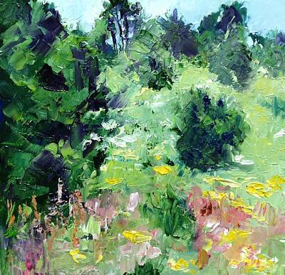 Christo Painting - High Country Wildflowers by Carol Hopper