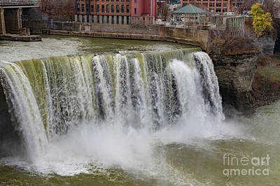 Photograph - High Falls by William Norton