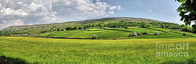 Yorkshire Photograph - High Fremington by Nichola Denny