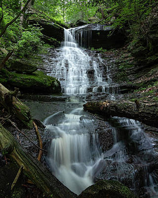 Photograph - High Rock Falls by Rusty Glessner
