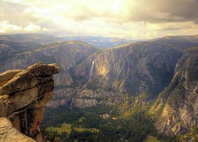 Photograph - High Sierra Overview by Harold Rau