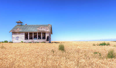 Abandoned School Photograph - Highland School House by Spencer McDonald