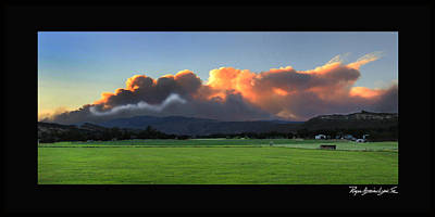 High Park Wildfire Photograph - Highpark by Roger Lyon