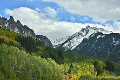 Photograph - Highway 145 South Of Telluride by Ray Mathis