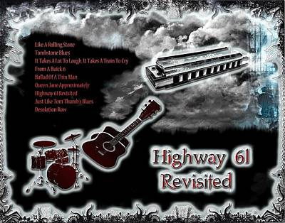 Digital Art - Highway 61 Revisited  by Michael Damiani