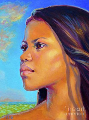 Painting - Hi'iaka by Isa Maria