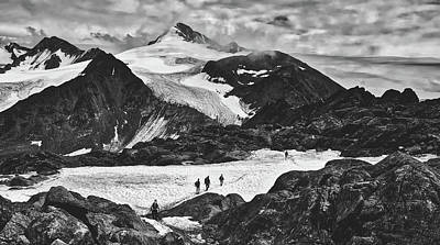 Photograph - Hiking The Glacier - Austria by Pixabay