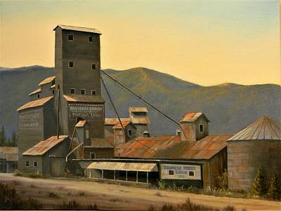 Painting - Hillbilly Highrise by Paul K Hill