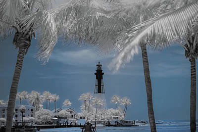 Photograph - Hillsboro Inlet Lighthouse by Louis Ferreira