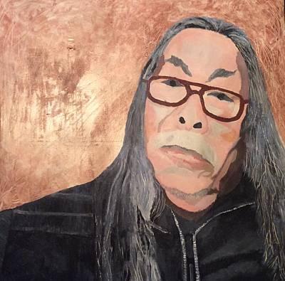 Painting - Him by Hang Ho