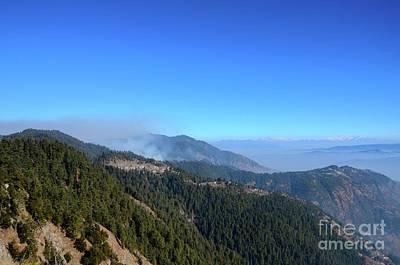 Photograph - Himalaya Mountain Peaks Seen On Road Between Murree And Nathia Gali North Pakistan by Imran Ahmed