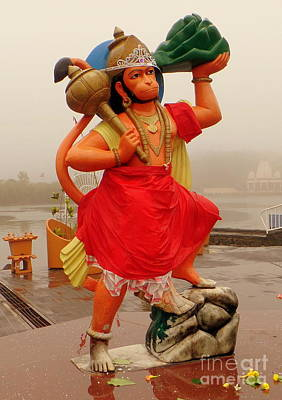 Photograph - Hindu God by John Potts
