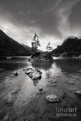 Lakeside Photograph - Hintersee by Nailia Schwarz