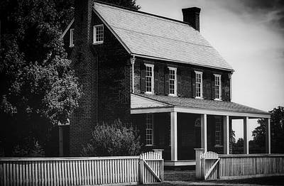 Historic Architecture Photograph - Historic Appomattox Courthouse by James DeMers